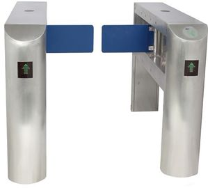 China IC Card Two-way Direction DC 24V Brushed Motor Automatic Swing Gate Barrier for Museum factory