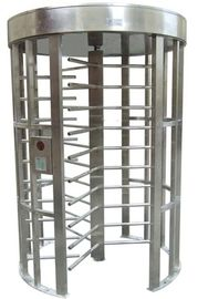 China Outdoor Rustproof Full Height Turnstile with Light Alarm for Park RS485 AC220V 50Hz RS485 factory