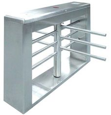 China One-way Direction Automatic Rotation Full Height Turnstile with LED Display for Museum factory