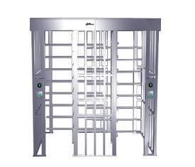 China RS485 One-way Direction Full Height Turnstile Entrance Gate, Security Turnstiles (0.2s) factory
