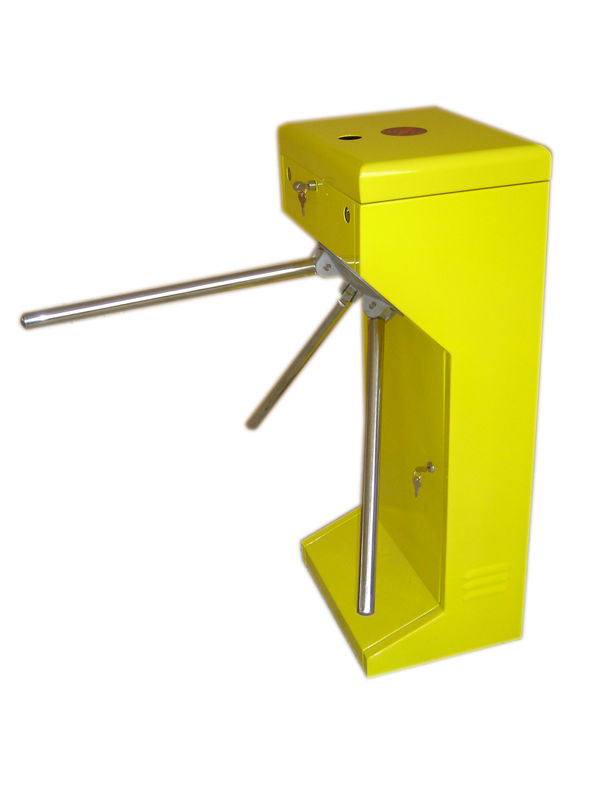 Vertical Stainless Steel Tripod Turnstile Gate For Park or Airport supplier