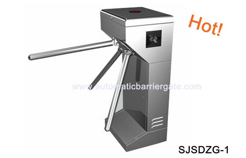 Digital Double Direction Stainless Steel ID Card Tripod Turnstile Gate for Supermarket supplier