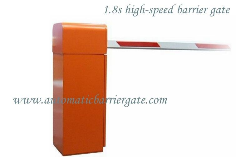 1.8s Customizable Powder Coating High Speed Automatic Traffic Barrier Gate for Airport / Bus Station supplier