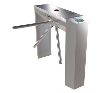 Digital Magnetic Card Rustproof Versatile Bridge Tripod Turnstile Gate for Bus Station supplier