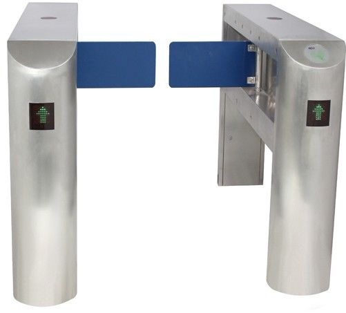 IC Card Two-way Direction DC 24V Brushed Motor Automatic Swing Gate Barrier for Museum supplier