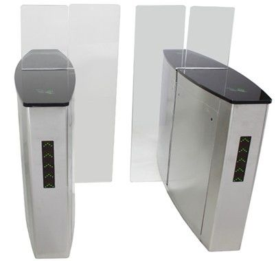 Indoor Magnetic Card Versatile Flap One-way Direction Swing Arm Barrier for Apartment supplier