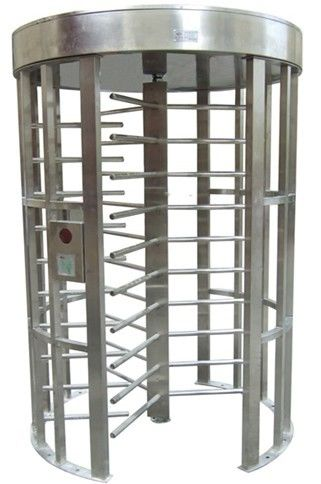 Outdoor Rustproof Full Height Turnstile with Light Alarm for Park RS485 AC220V 50Hz RS485 supplier