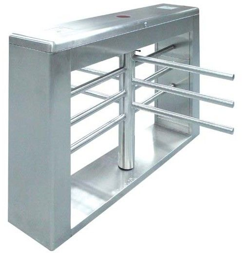 One-way Direction Automatic Rotation Full Height Turnstile with LED Display for Museum supplier