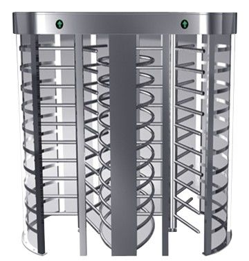 Indoor One-way Direction Full Height Turnstile with Stainless Steel Tube for Bus Station supplier