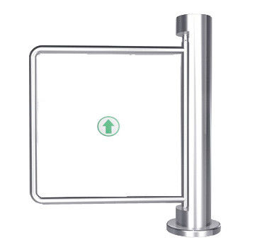 90 Angle Auto Reset 300 - 800mm Arm One - way Stainless Manual Swing Gate Barrier supplier
