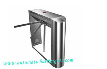 China Automatic Access Control Tripod Turnstile Gate 0.2S Time Attendance distributor