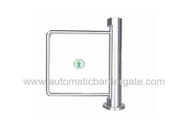 China Auto Reset 90 Angle Single Directional Stainless Manual Swing Gate Barrier for Exhibition distributor