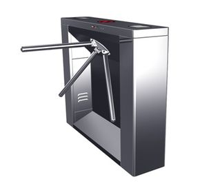 China Digital Multi-function Magnetic Card Stainless Bridge Tripod Turnstile Gate for Subway distributor