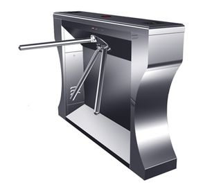 China 0.2s RS485 Versatile Digital Stainless Barrier Gate System Tripod Turnstile for Subway distributor